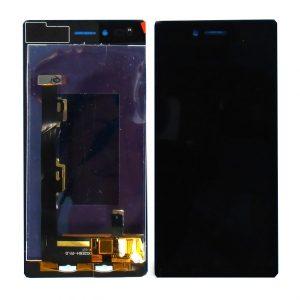 Дисплей для Lenovo Z90 Vibe Shot в сборе с тачскрином Черный