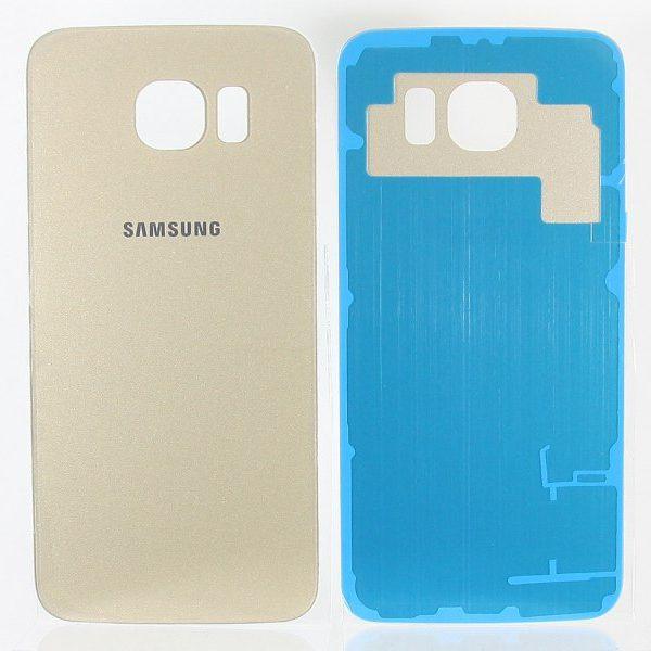 Задняя крышка для Samsung G920F (S6) Золото