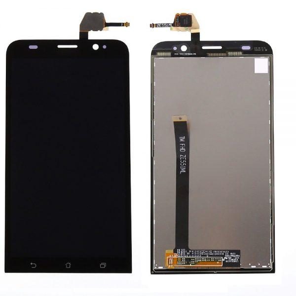 Дисплей для Asus ZenFone 2 (ZE551ML) с тачскрином Черный