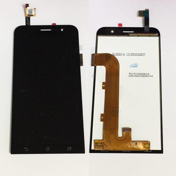 Дисплей для Asus ZenFone Go (ZB500KL) в сборе с тачскрином Черный