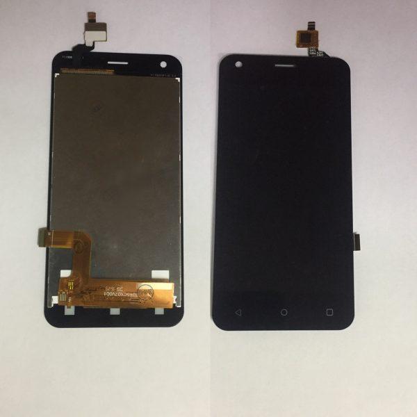 Дисплей для Fly FS454 (Nimbus 8) с тачскрином Черный