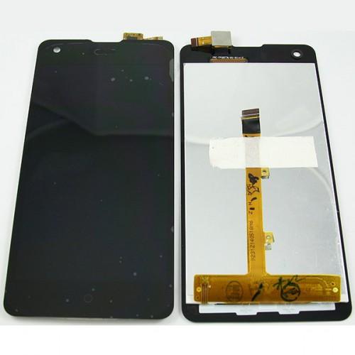 Дисплей для Highscreen Omega Prime S с тачскрином Черный