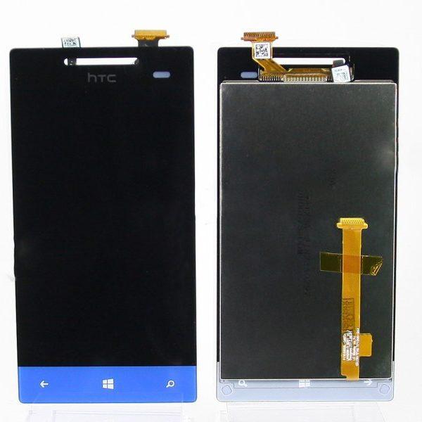 Дисплей для HTC 8S Windows Phone с тачскрином Синий