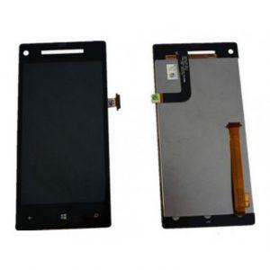 Дисплей для HTC 8X Windows Phone с тачскрином Черный