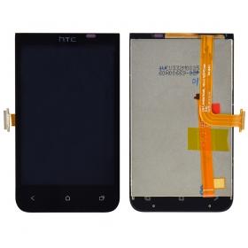 Дисплей для HTC Desire 200 с тачскрином Черный