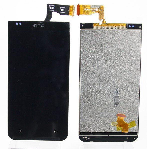 Дисплей для HTC Desire 300 с тачскрином Черный