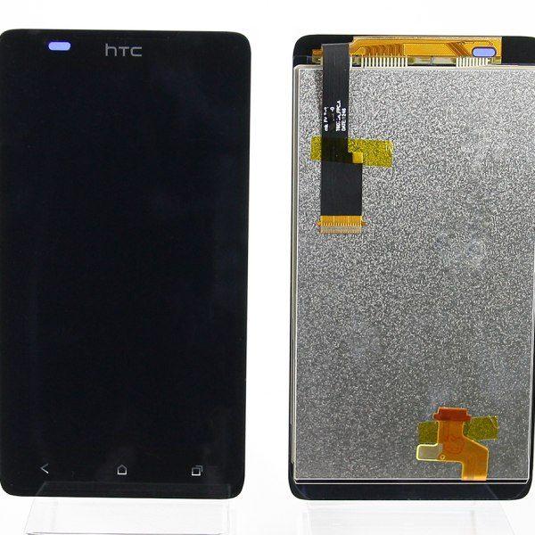 Дисплей для HTC Desire 400 / 400 Dual с тачскрином Черный