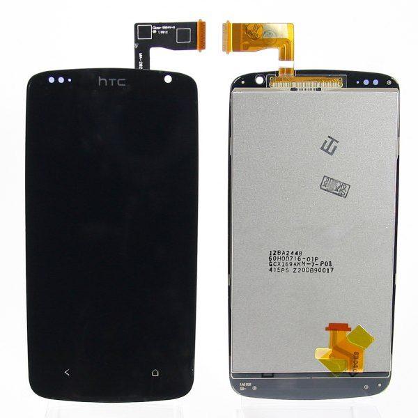 Дисплей для HTC Desire 500 / 500 Dual с тачскрином Черный