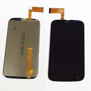 Дисплей для HTC Desire V с тачскрином Черный