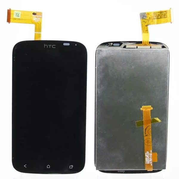 Дисплей для HTC Desire X с тачскрином Черный