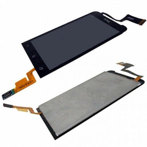 Дисплей для HTC One V (T320) с тачскрином Черный