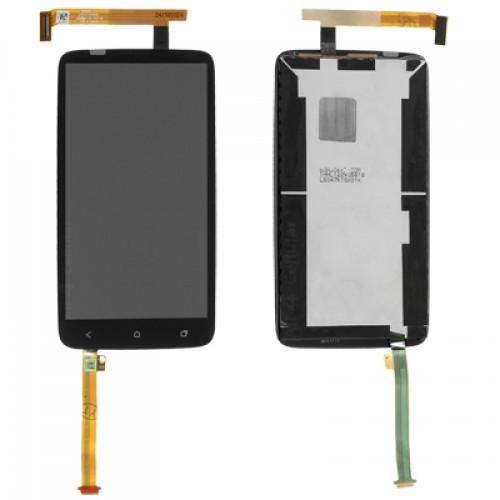 Дисплей для HTC One X + (S728e) с тачскрином Черный