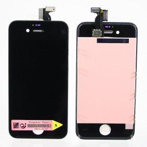 Дисплей для iPhone 4S с тачскрином Черный