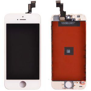 Дисплей для iPhone 5S с тачскрином Белый