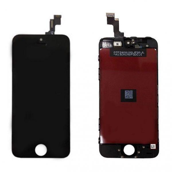 Дисплей для iPhone 5S с тачскрином Черный