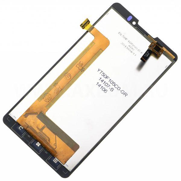 Дисплей для Lenovo P780 с тачскрином Черный