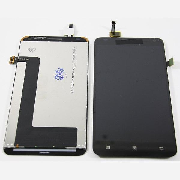 Дисплей для Lenovo S580 с тачскрином Черный