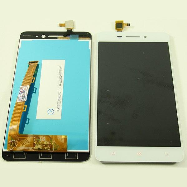 Дисплей для Lenovo S60 с тачскрином Белый