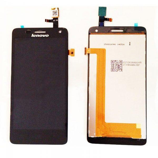 Дисплей для Lenovo S660 с тачскрином Черный