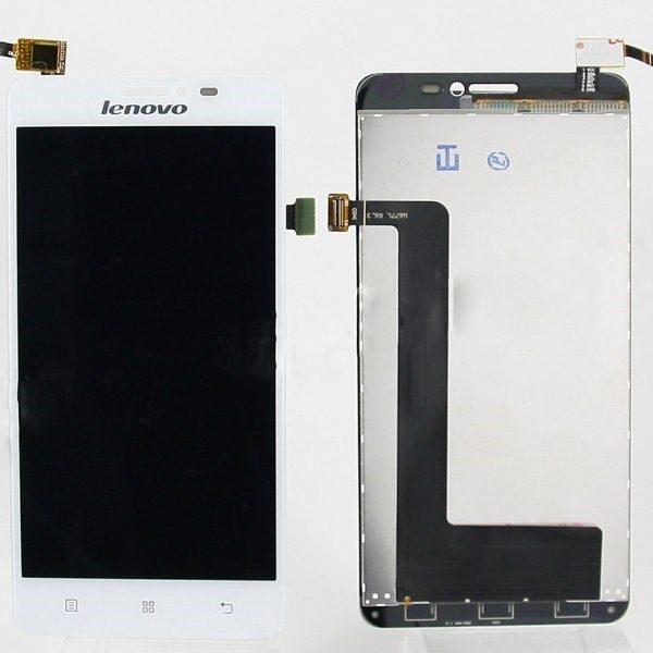 Дисплей для Lenovo S850 с тачскрином Белый