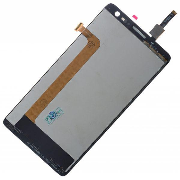 Дисплей для Lenovo S856 с тачскрином Черный