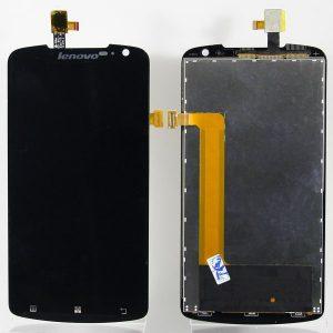 Дисплей для Lenovo S920 с тачскрином Черный