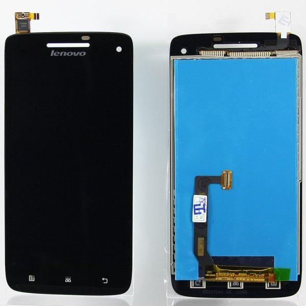 Дисплей для Lenovo S960 Vibe X с тачскрином Черный