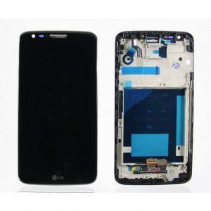 Дисплей для LG D802 (G2) (20 pin) с тачскрином Черный