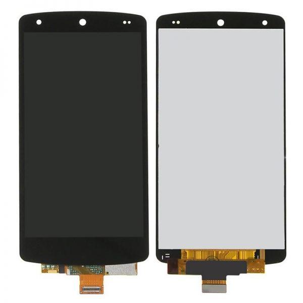 Дисплей для LG D821 (Nexus 5) с тачскрином Черный