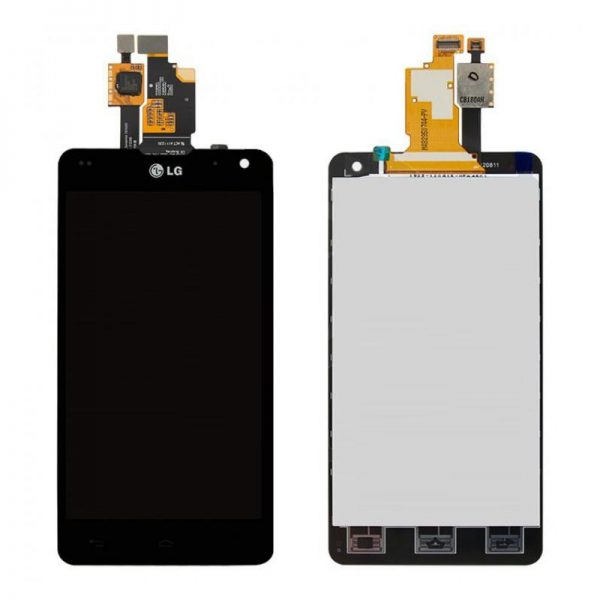 Дисплей для LG E975/E971/E973/E977/F180 (Optimus G) с тачскрином Черный