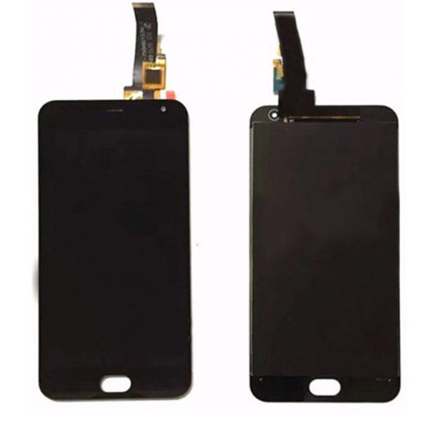 Дисплей для Meizu M2 mini с тачскрином Черный