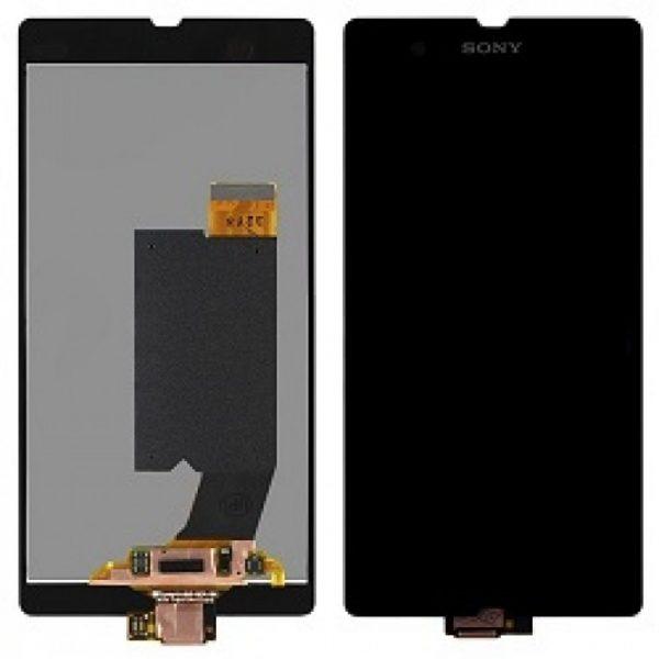 Дисплей для Sony C6603 (Z) с тачскрином Черный