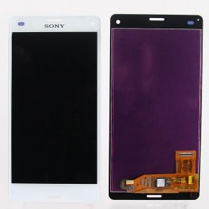 Дисплей для Sony D5803 (Z3 Compact) с тачскрином Белый AAA