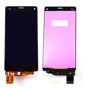 Дисплей для Sony D5803 (Z3 Compact) с тачскрином Черный AAA