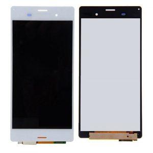 Дисплей для Sony D6603/D6633 (Z3/Z3 Dual) с тачскрином Белый