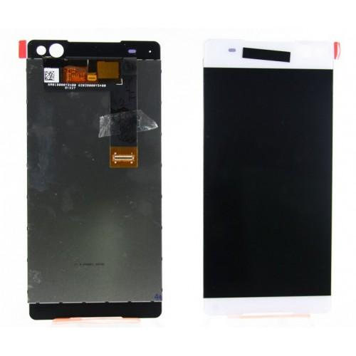 Дисплей для Sony E5533 (C5 Ultra Dual) в сборе с тачскрином Белый
