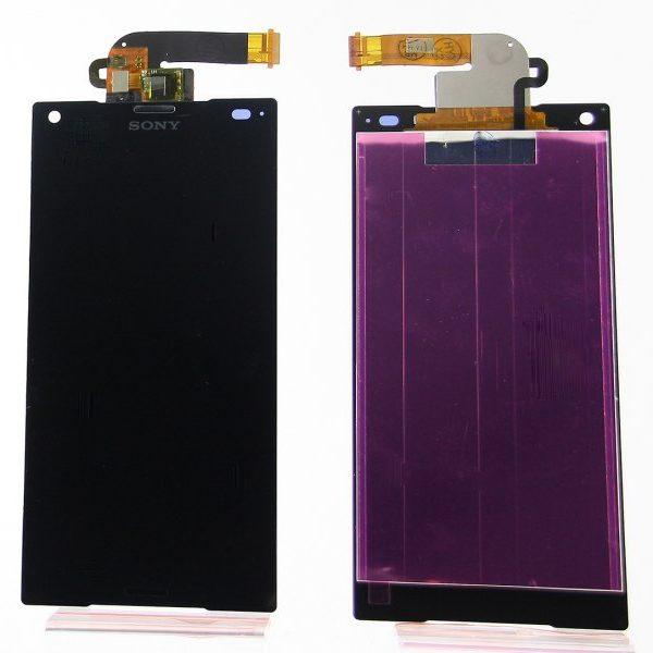 Дисплей для Sony E5823 (Z5 Compact) в сборе с тачскрином Черный