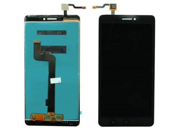 Дисплей для Xiaomi Mi Max в сборе с тачскрином Черный