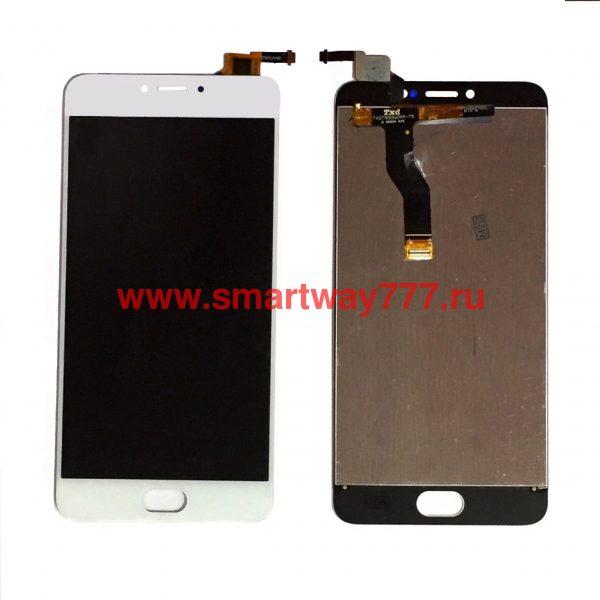Дисплей для Meizu M3 Note (L681) в сборе с тачскрином Белый