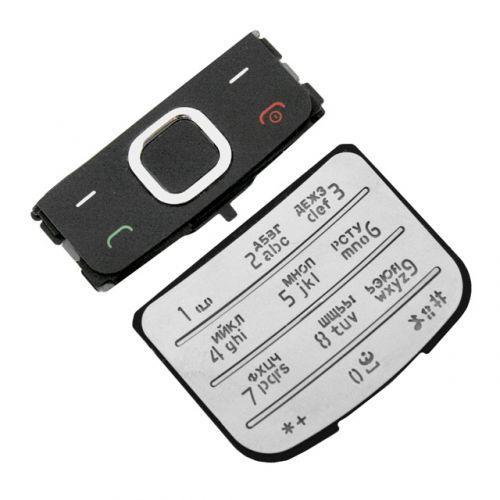Клавиатура для Nokia 6700C Хром