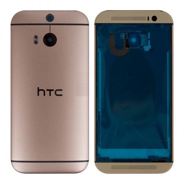 Корпус для HTC One M8 Золото