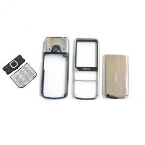 Корпус для Nokia 6700 Classic Серебро