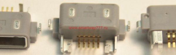 Разъем зарядки для Sony Ericsson ST18i/WT19i/W8/LT26W/ST25i/C6603