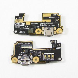 Шлейф для Asus ZenFone 5 (A501CG) плата с разъемом зарядки+микрофон