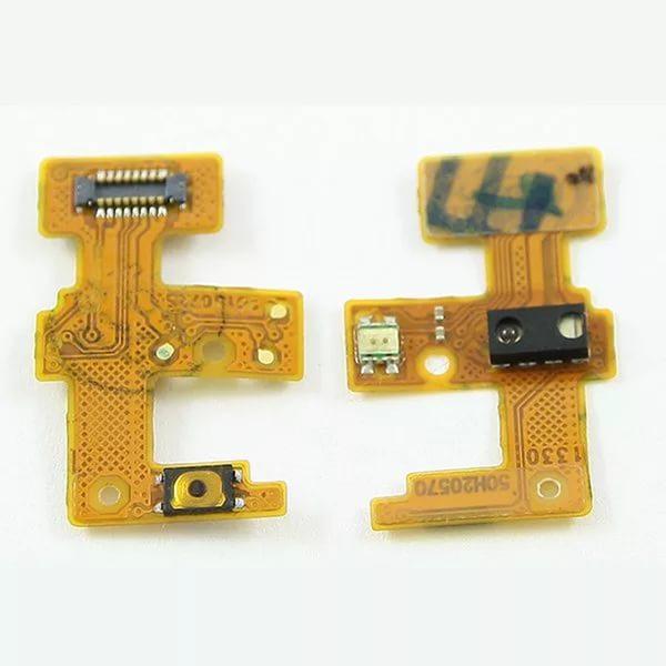Шлейф для HTC Desire 601 на сенсор / кнопку включения