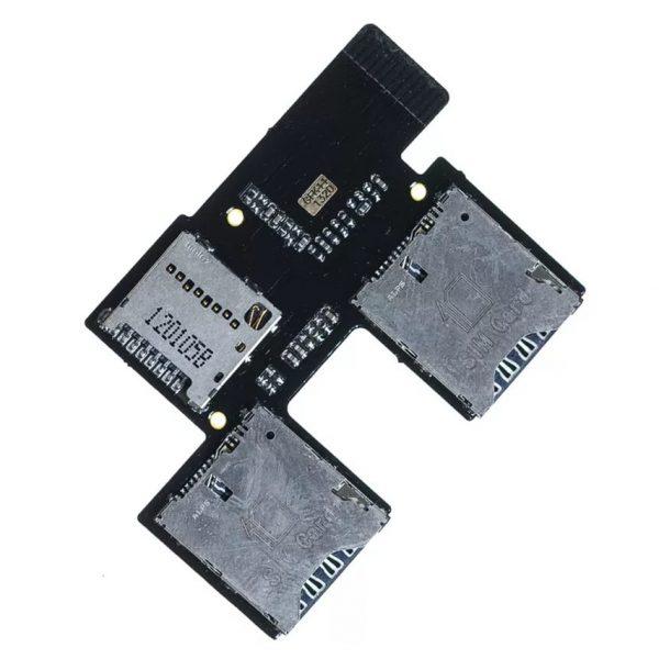 Шлейф для HTC Desire SV с разъемом SIM / MMS