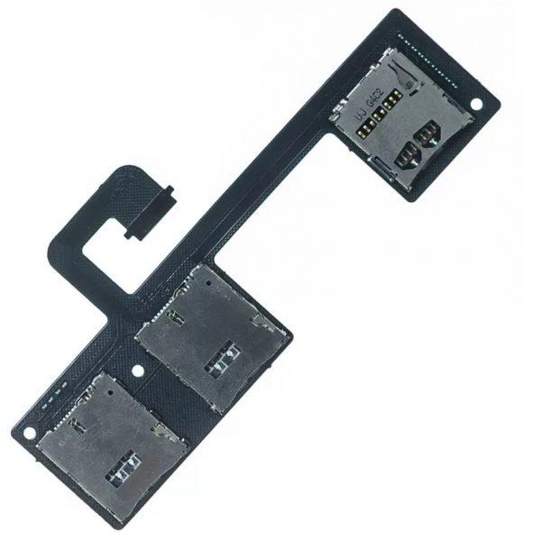 Шлейф для HTC One Dual / 802w на разъем SIM / MMC