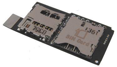 Шлейф для HTC One SV с разъемом sim