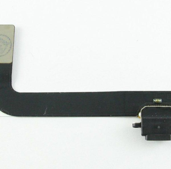 Шлейф для iPad 4 с разъемом зарядки Черный
