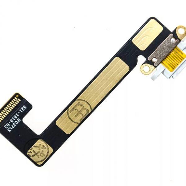 Шлейф для iPad mini 2 Retina / mini 3 с разъемом зарядки Белый
